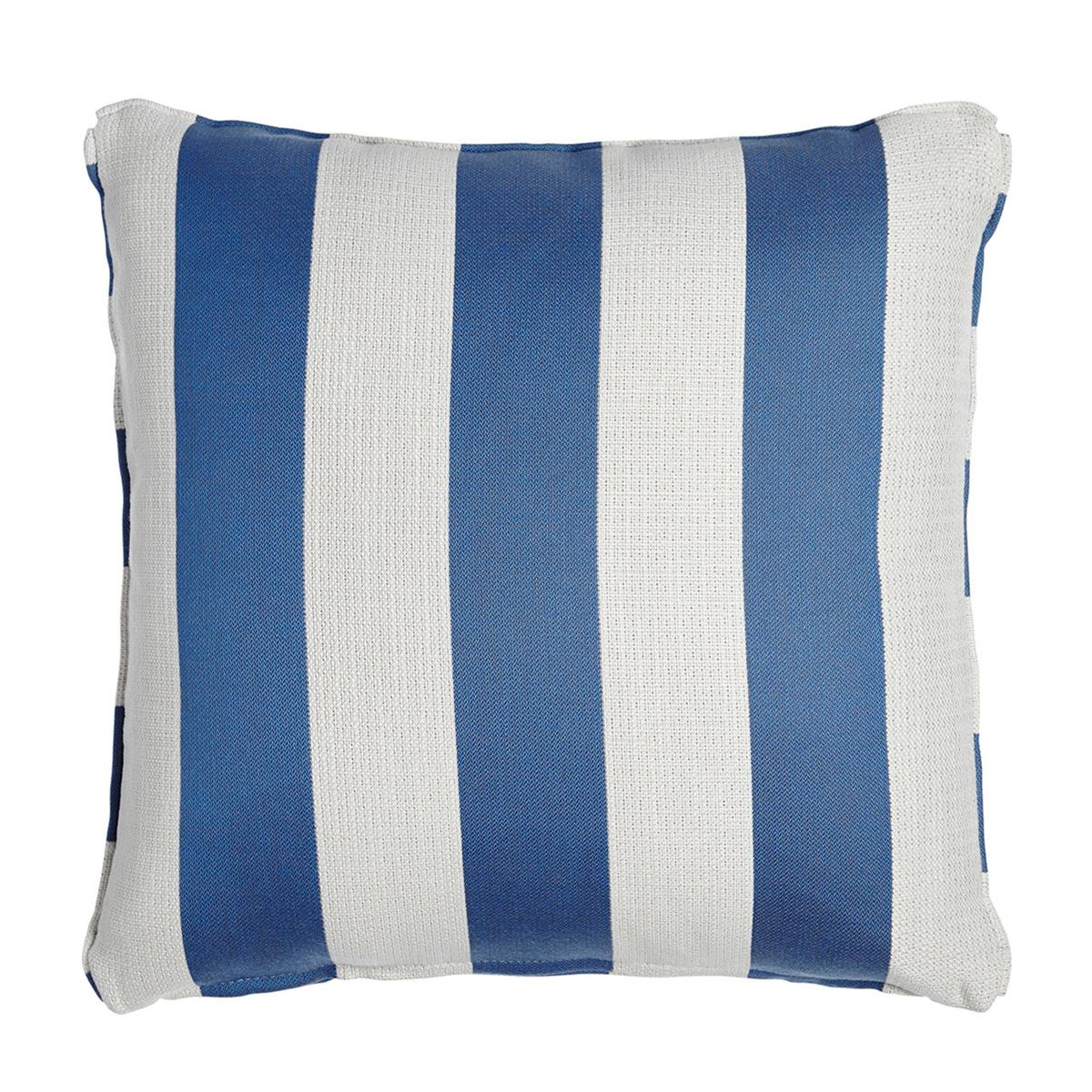 brown jordan blue and white stripe outdoor pillow.jpg