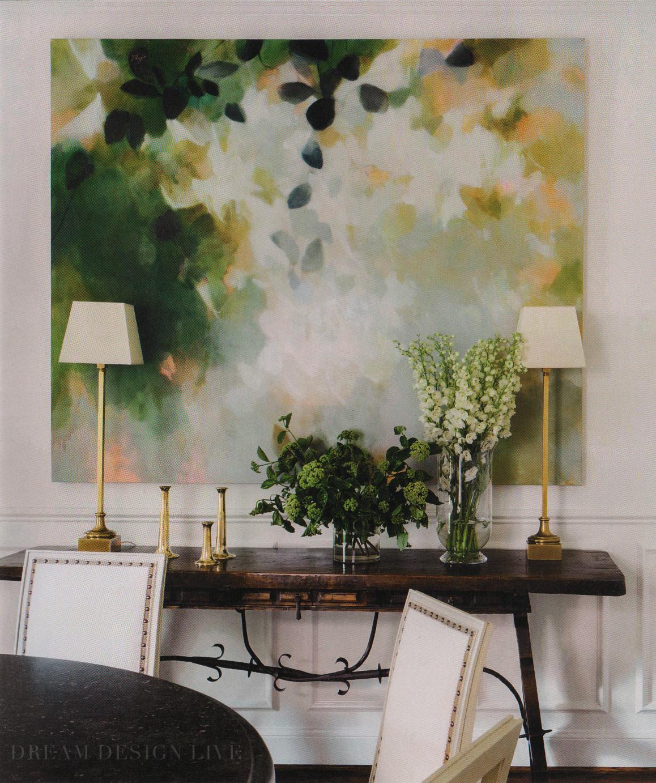Dining room from Dream Design Live, Paloma Contreras' fantastic new interior design book
