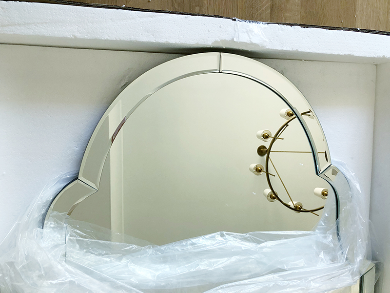 Unpacking a gorgeous Mirror Image Home mirror
