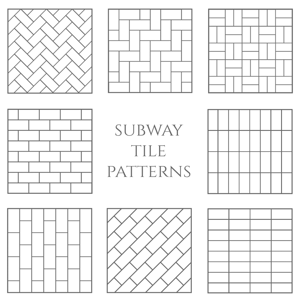 Subway Tile Patterns
