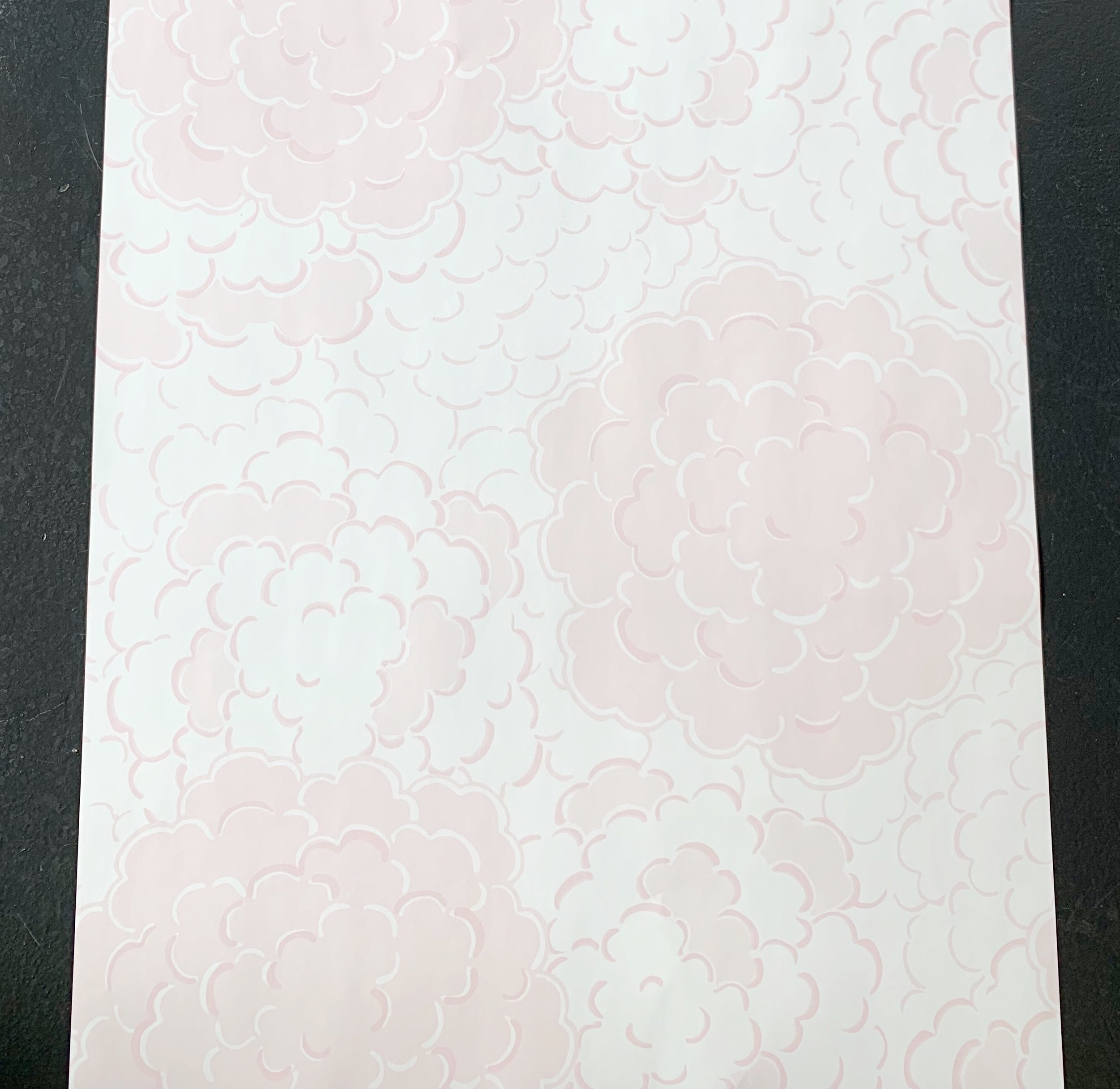Sample wallpaper from The Pink Pagoda printed by Milton and King