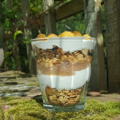 Orange + Pecan Homemade Granola