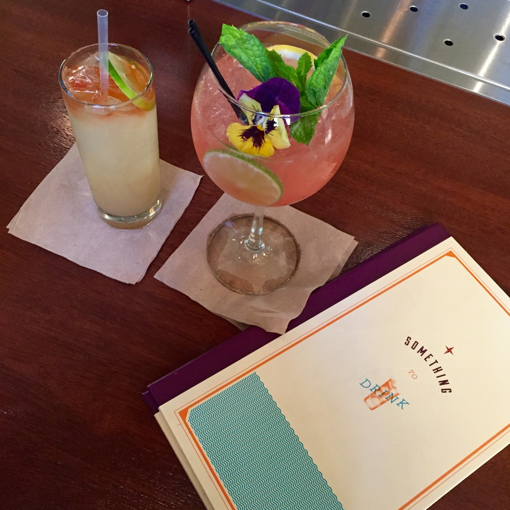 Drinks:  In addition to a wealth of authentic Peruvian offerings, La Mar's   cocktail program   gets my stamp of approval.  Pro tip:  Ask the bartender for recommendations. We sure did!