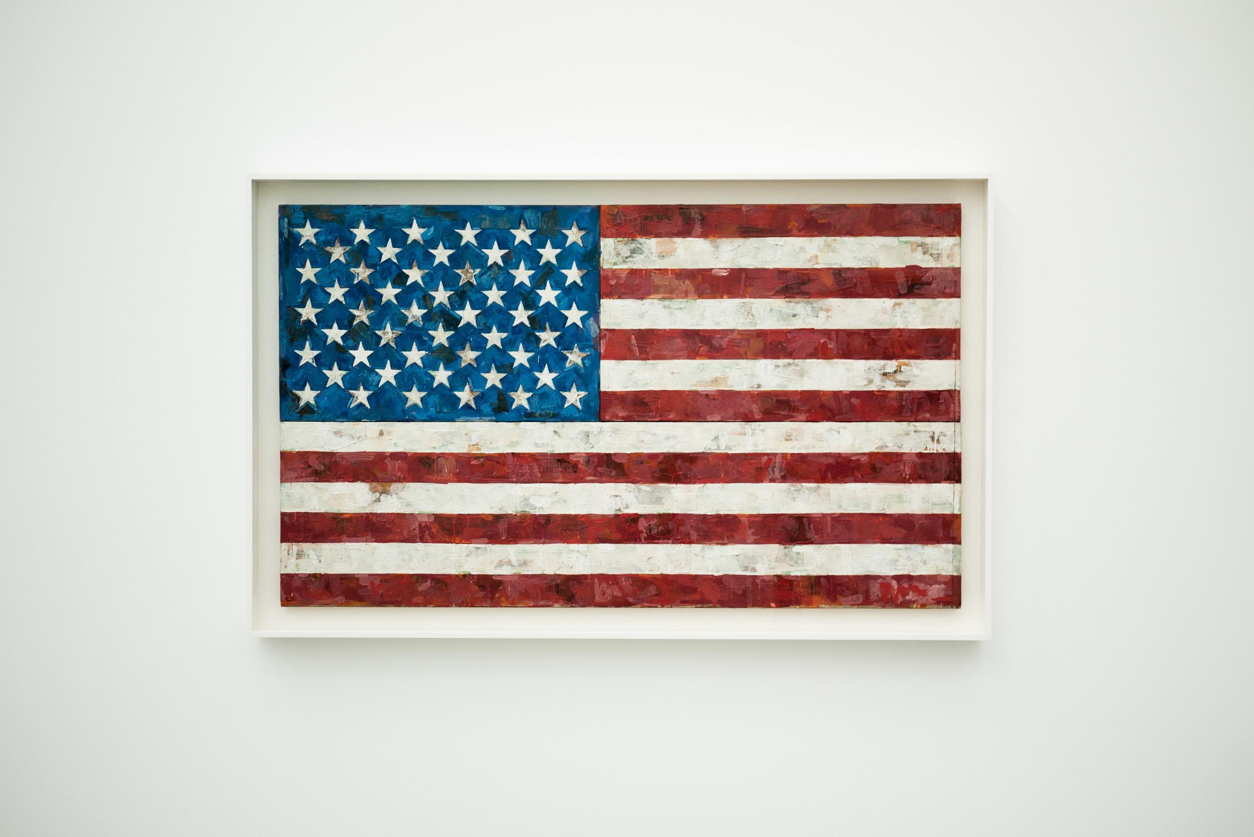 Jasper Johns - American Flag