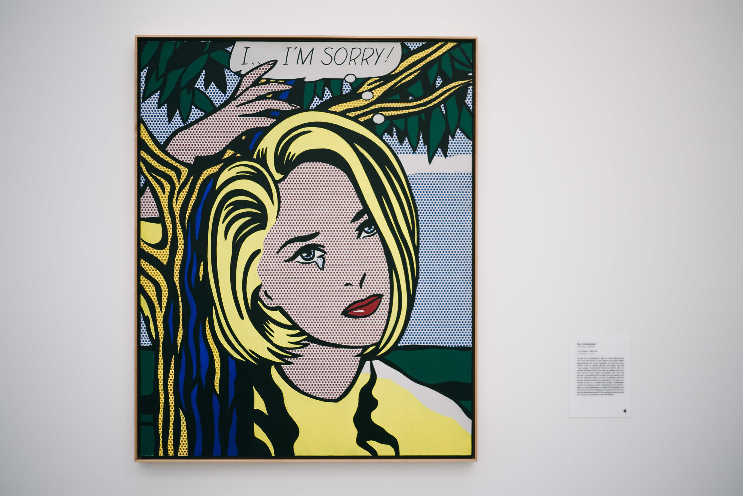Roy Lichtenstein - I...I'm Sorry