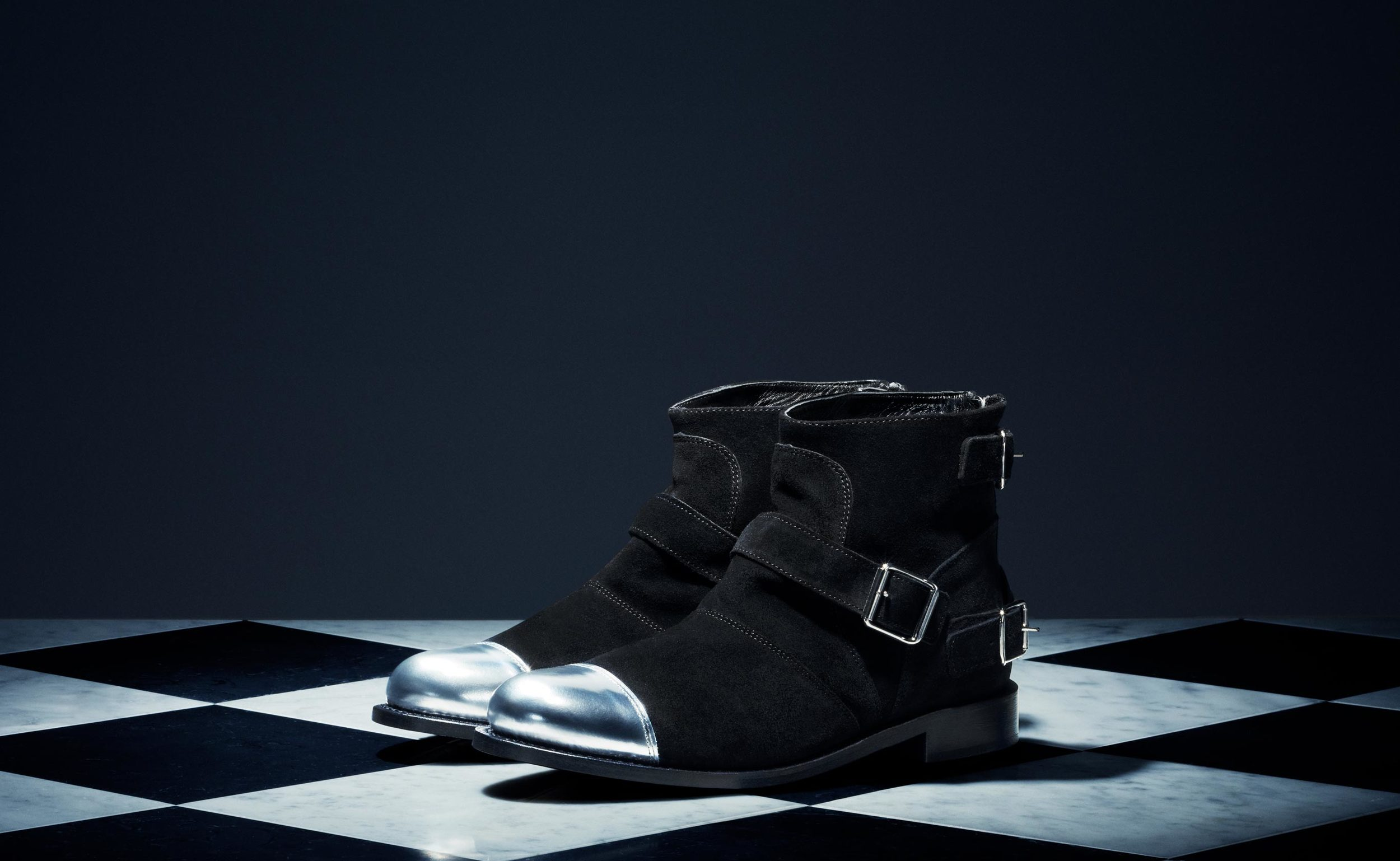 Black Suede Boots - $249