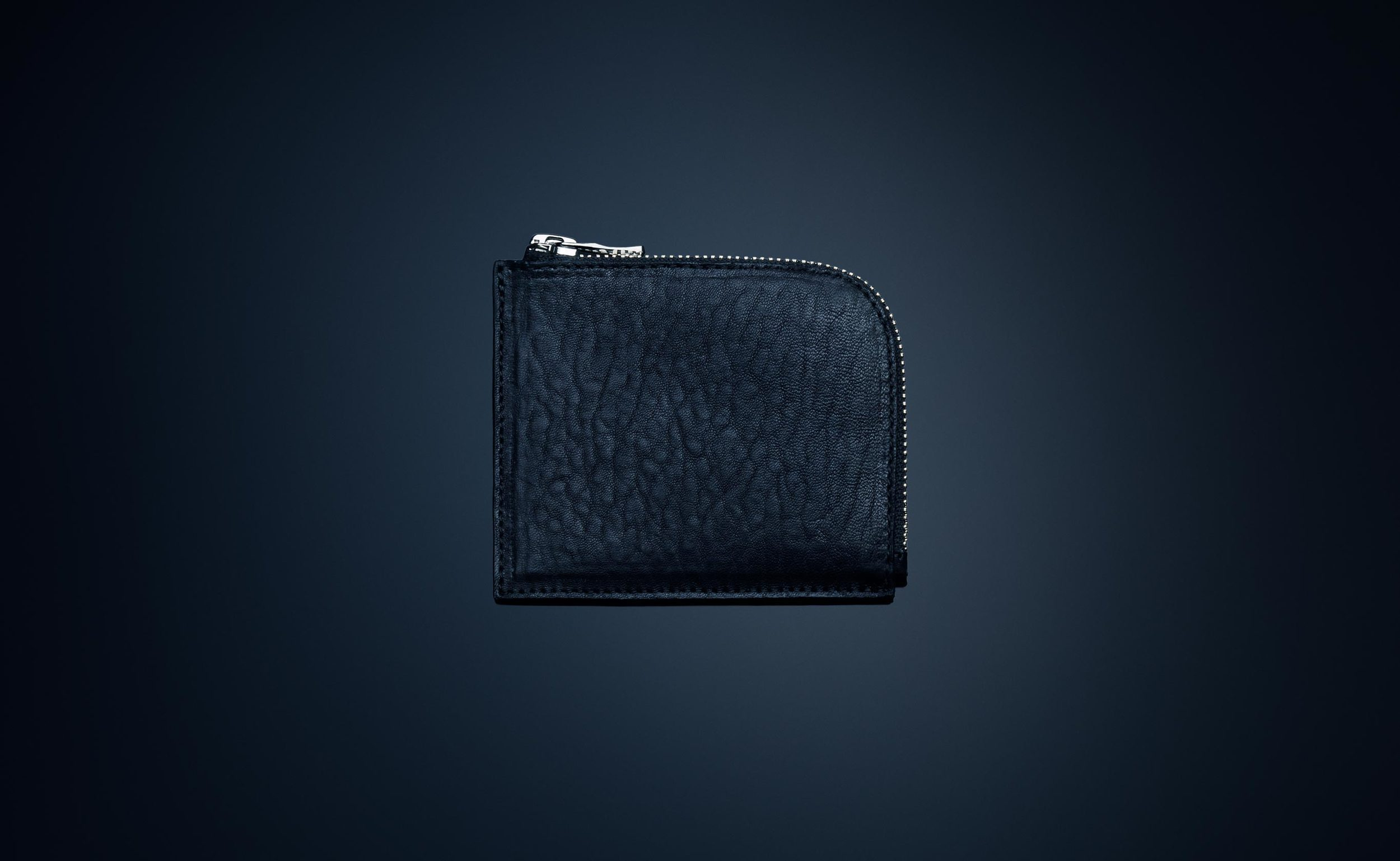 Grained Leather Wallet - $34.99