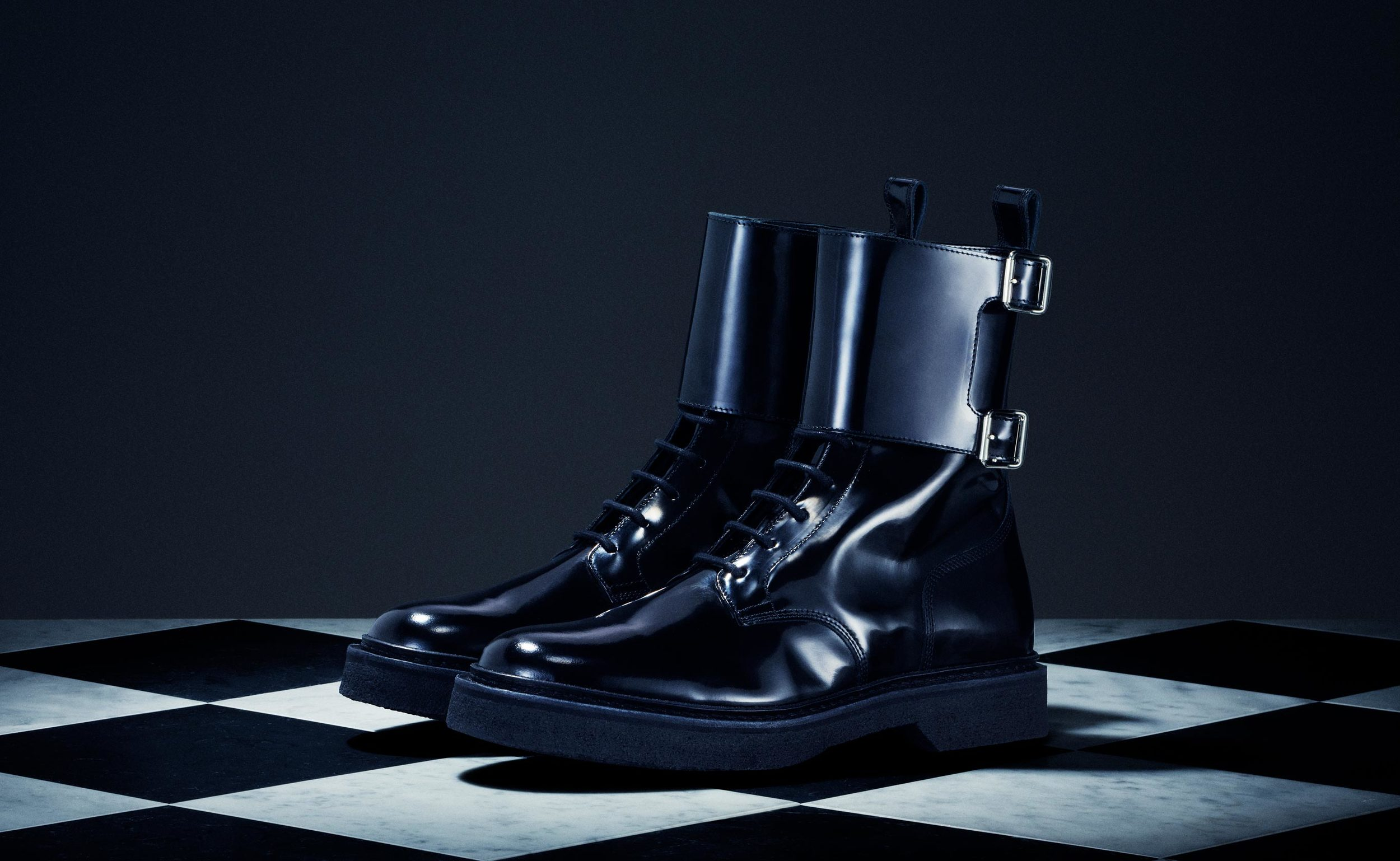 Patent Leather Boots - $299