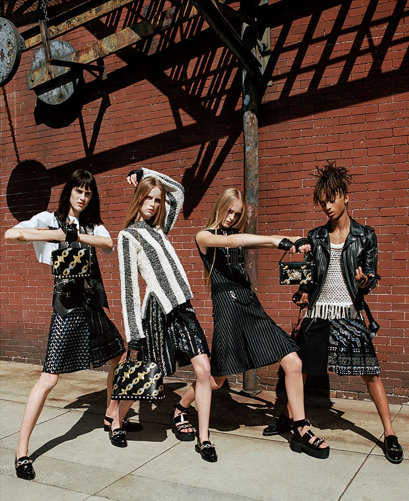 Jaden Smith's debut in Louis Vuitton's SS16 ad campaign