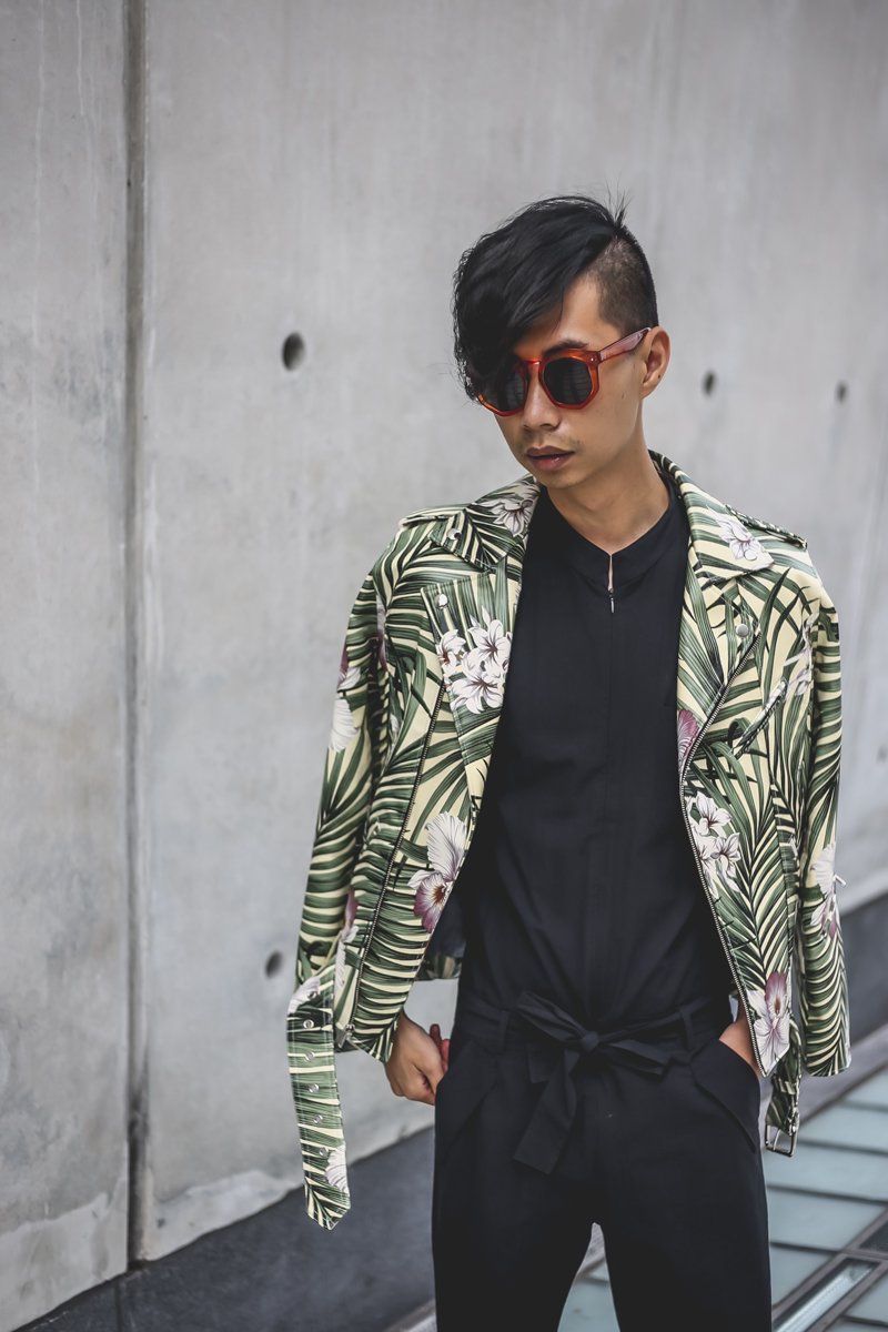 Setting the trend:Upcycle old items for NYFWM streetstyle and   then sell them  .