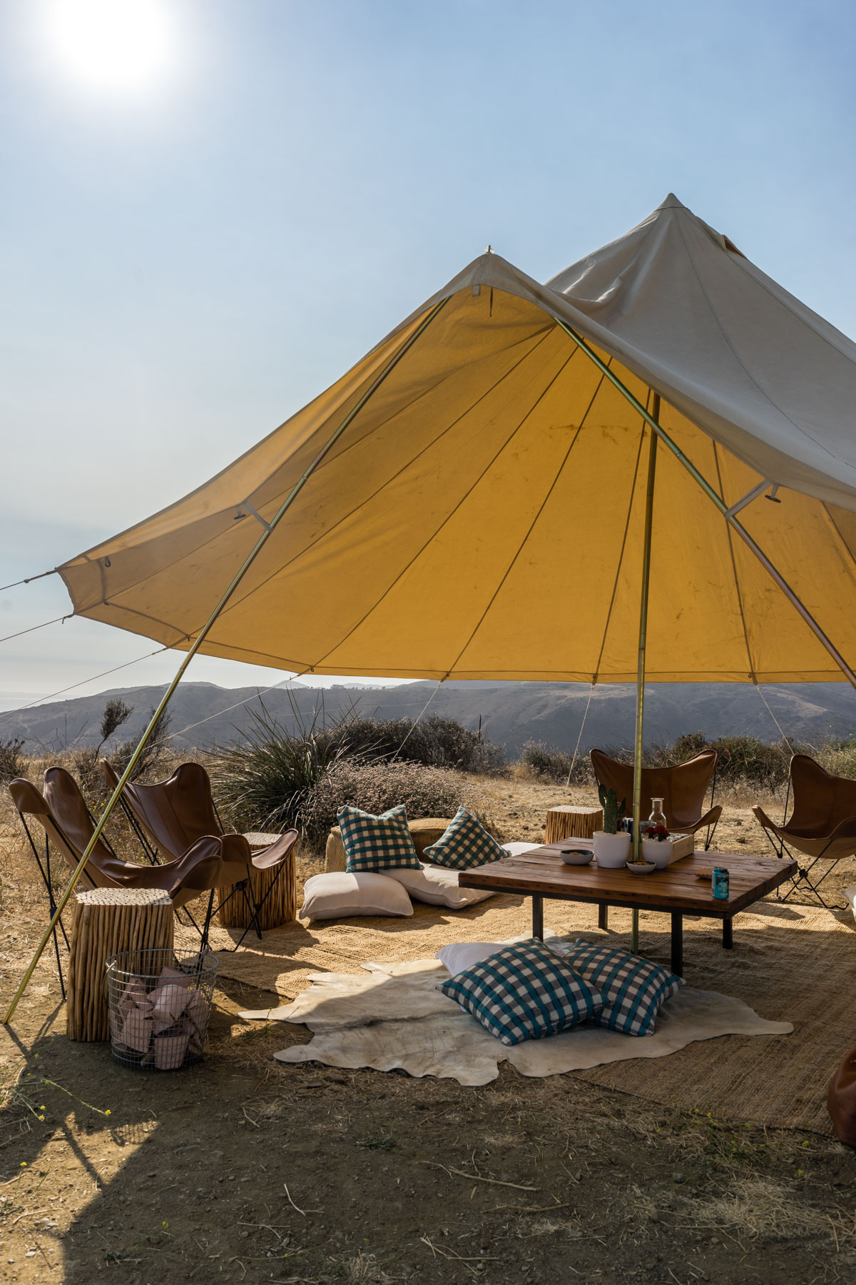 Want to pitch a tent? Be my guest.