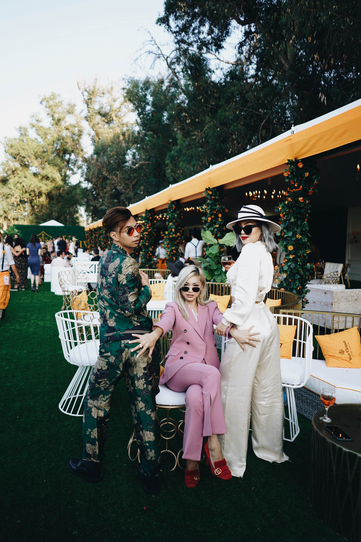 Shenanigans in the VIP area of   Veuve Clicquot Polo Classic