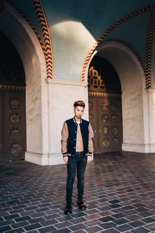 #OOTD |  Mango baseball bomber jacket ,  G-Star RAW Elwood jeans ,  Prada fur loafers
