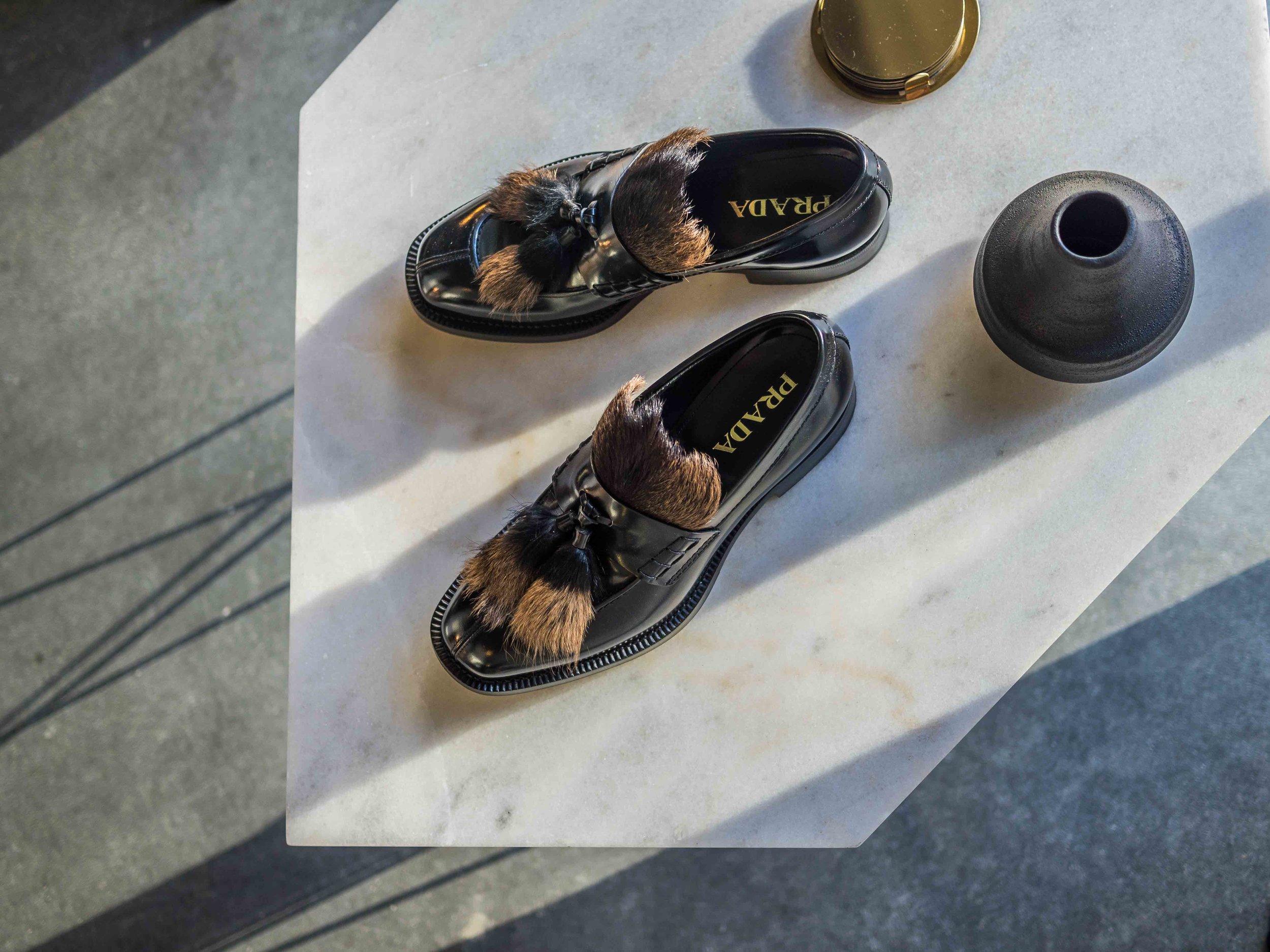 baa40a51 Gucci Gucci, Prada Prada: I Can't Get Enough of Fur Loafers ...