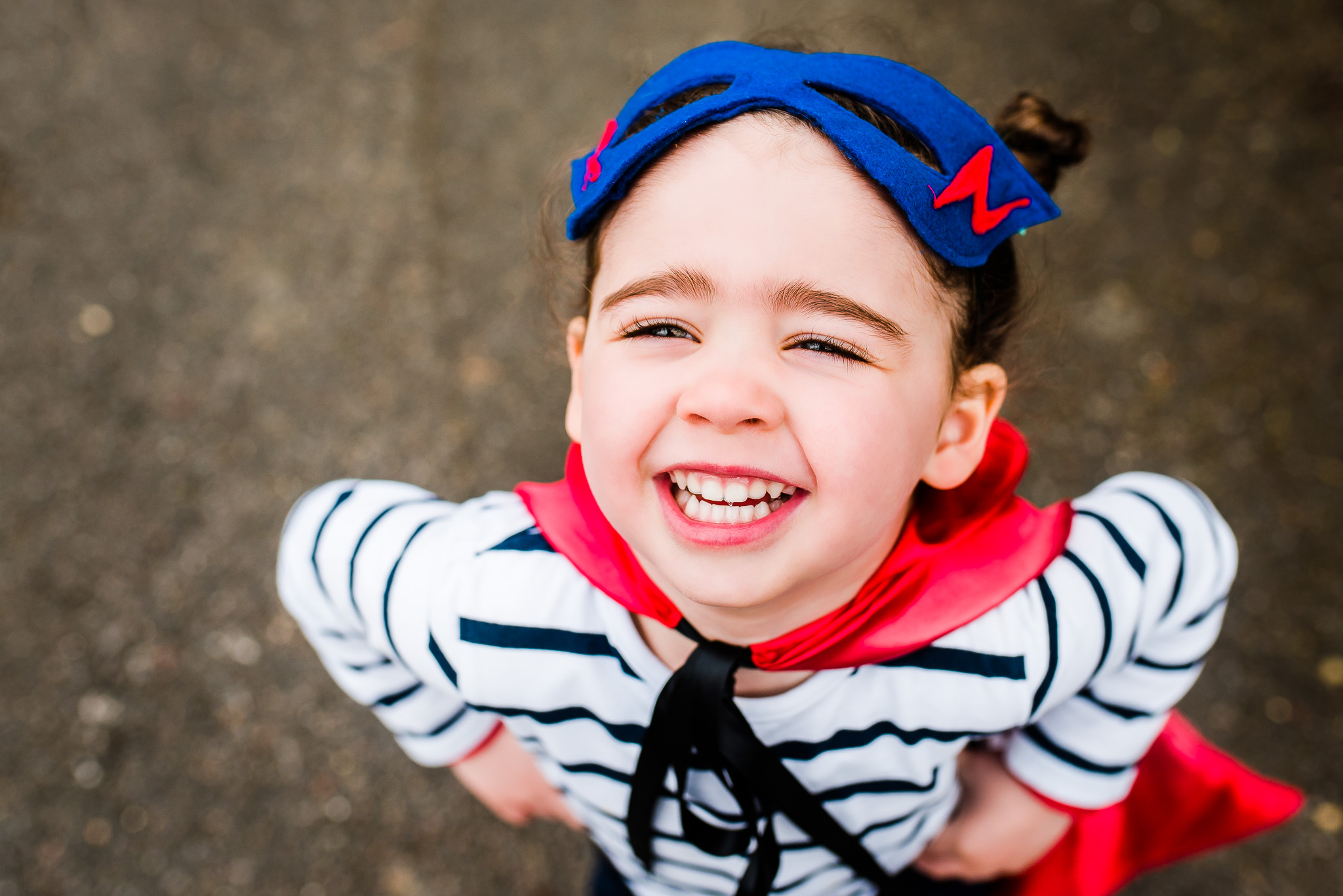 Copy of Toddler smiling. Beautiful child portrait.