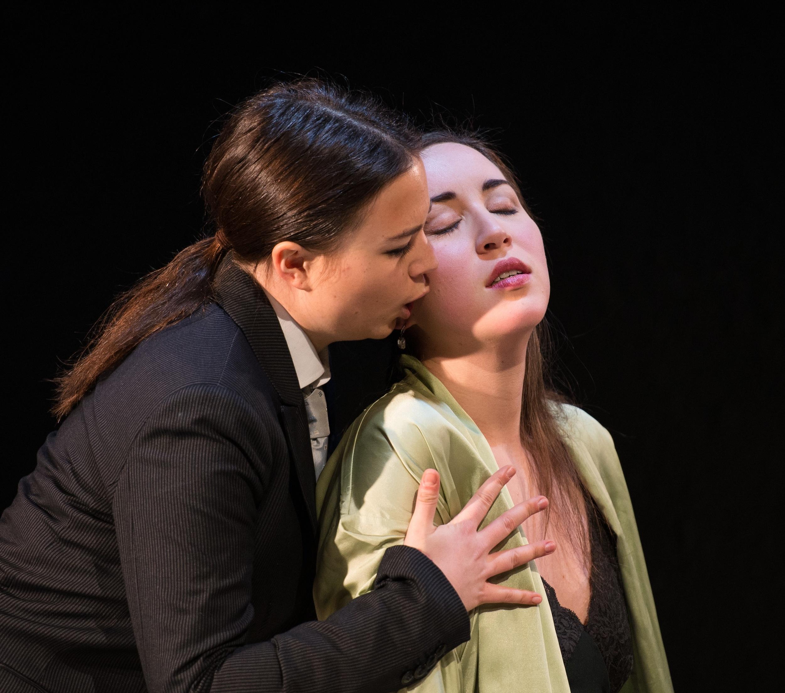 Szenenabend an der Theaterakademie August Everding. Foto © Jean-Marc Turmes
