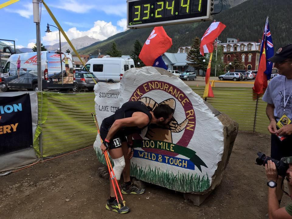 Ultra-trail Hardrock 100 (Colorado)