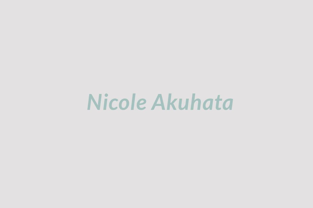 Finance  Nicole Akuhata