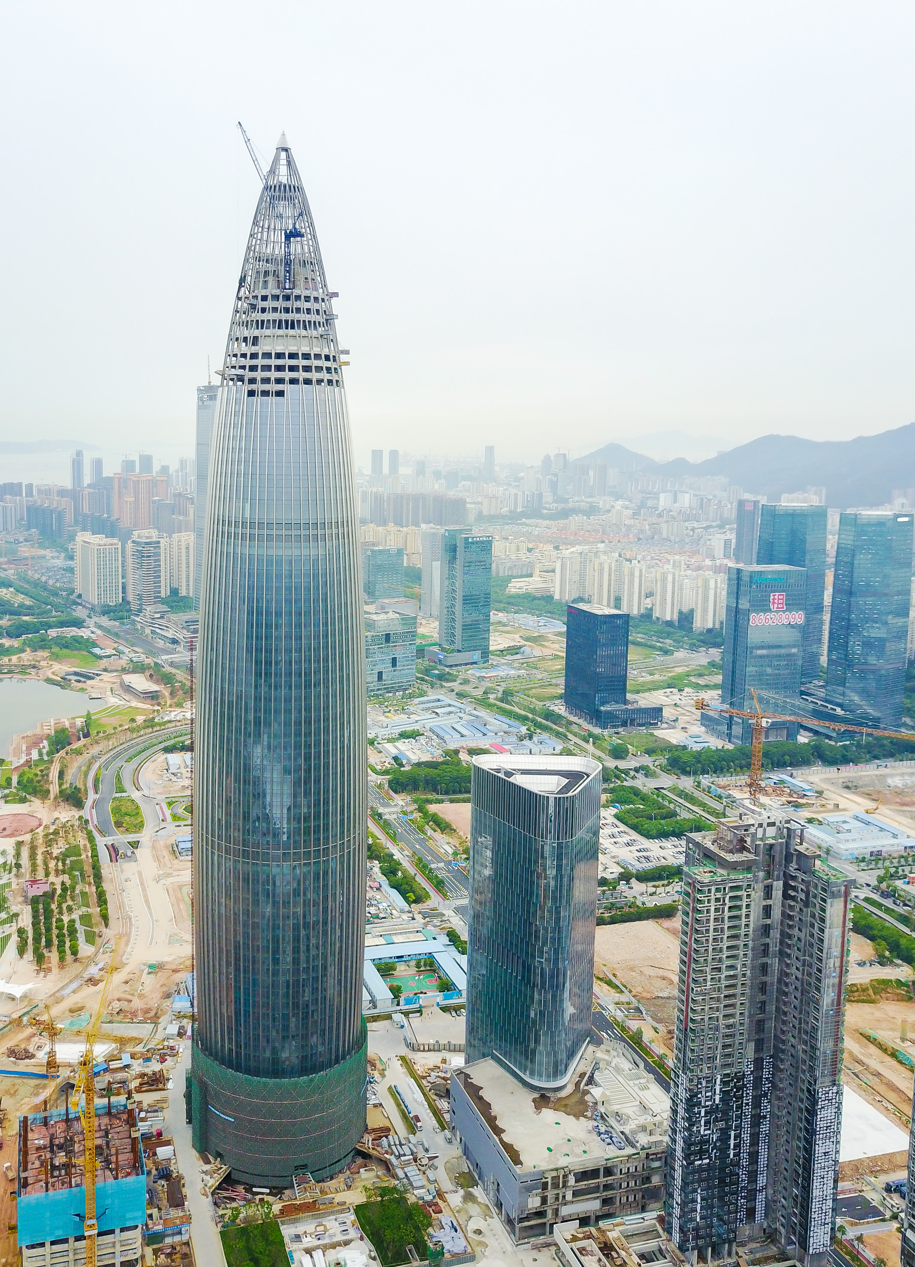 Shenzhen is being called the next Silicon Valley, futuristic buildings are popping up everywhere.