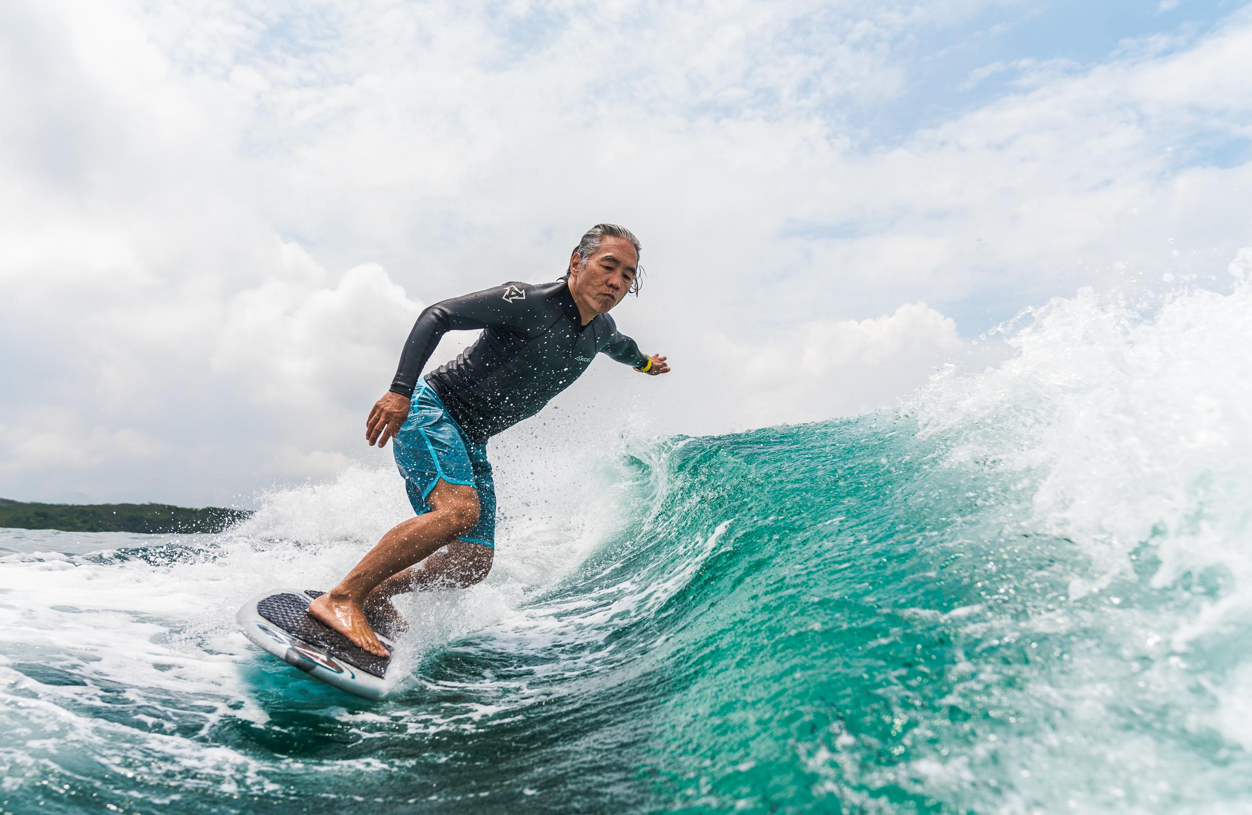 Wakesurfing, Sai Kung