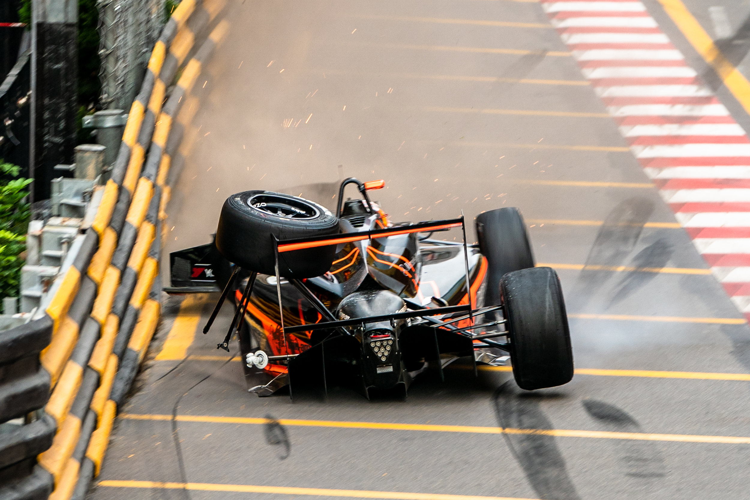 Sophia Floersch Crash Macau Grand Prix