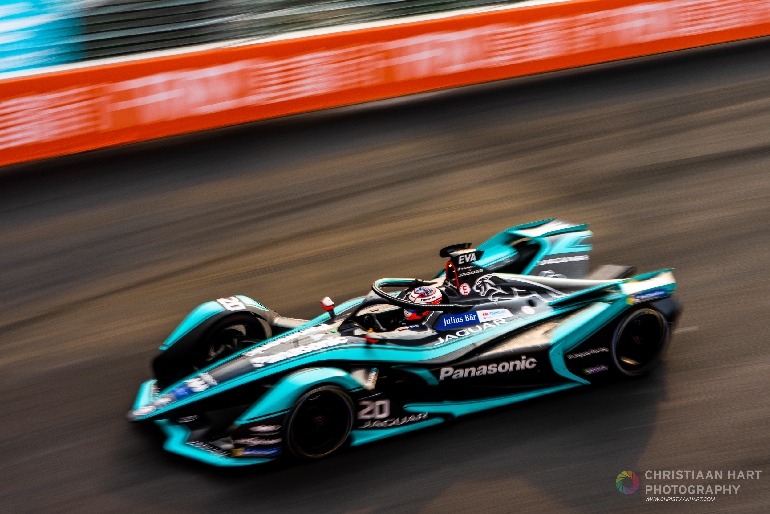 Mitch Evans  Panasonic Jaguar Racing team.