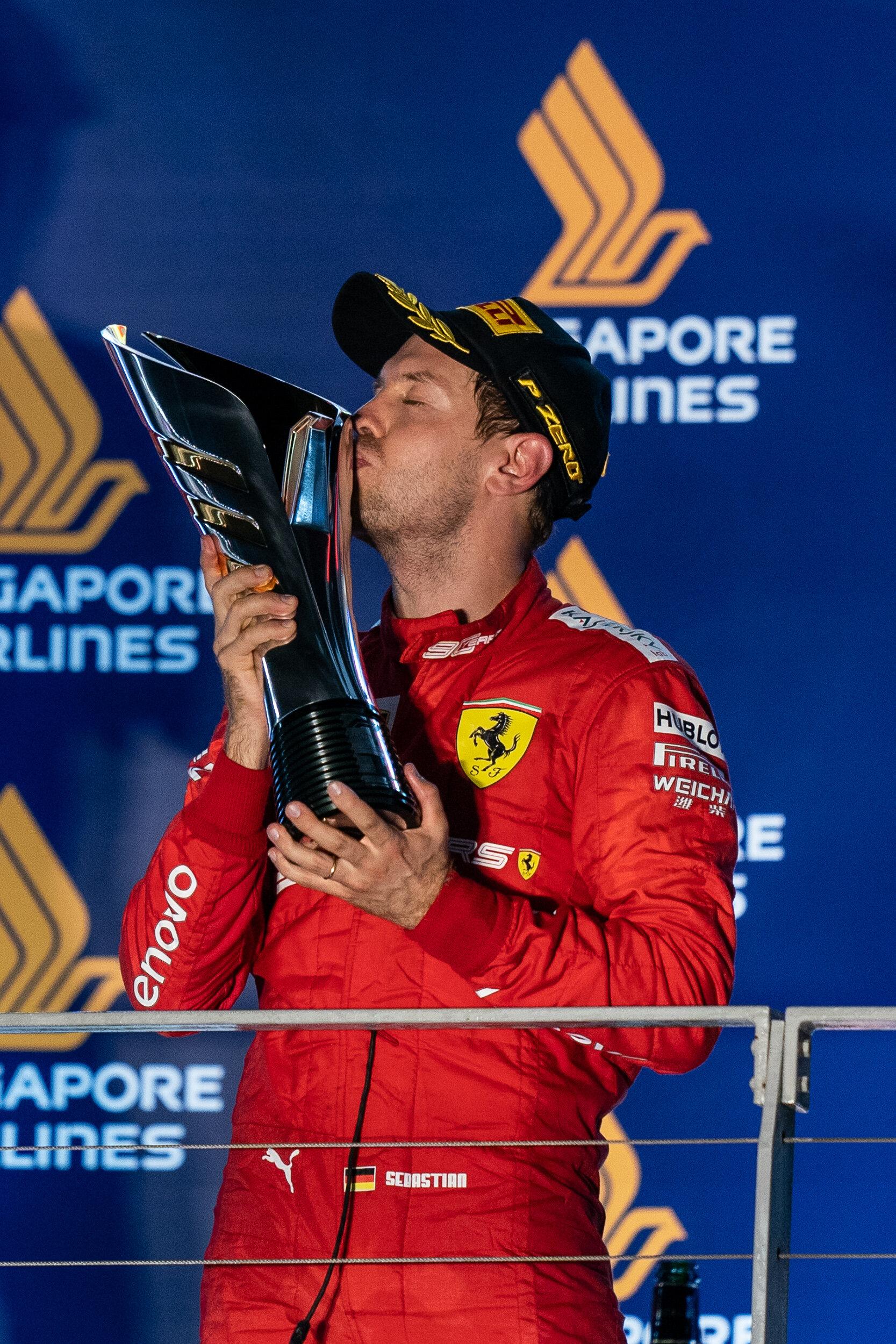 Sebastian Vettel, Singapore Grand Prix