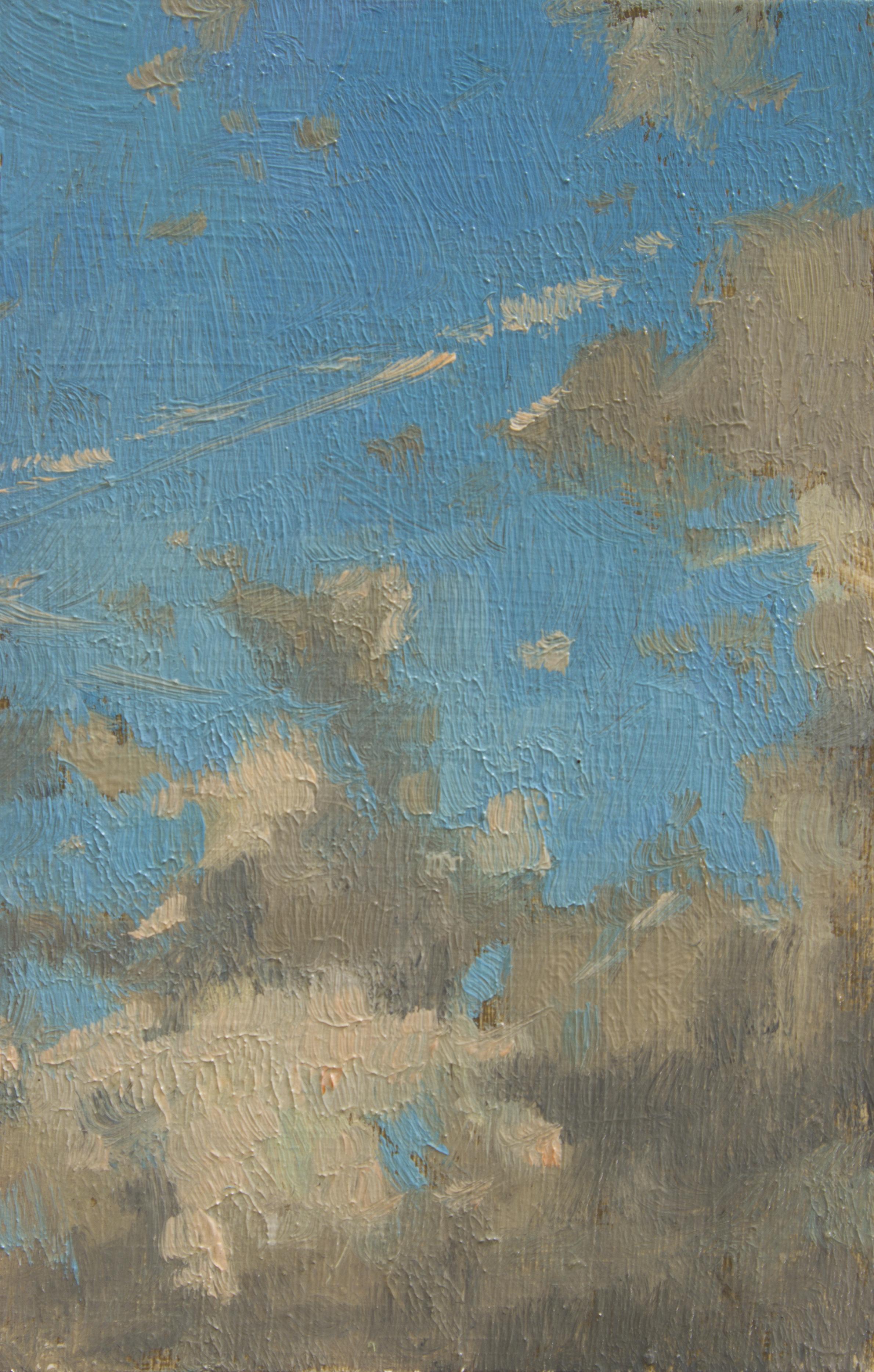"""TS 372, oil on panel, 3.25"""" x 2"""", 2015"""