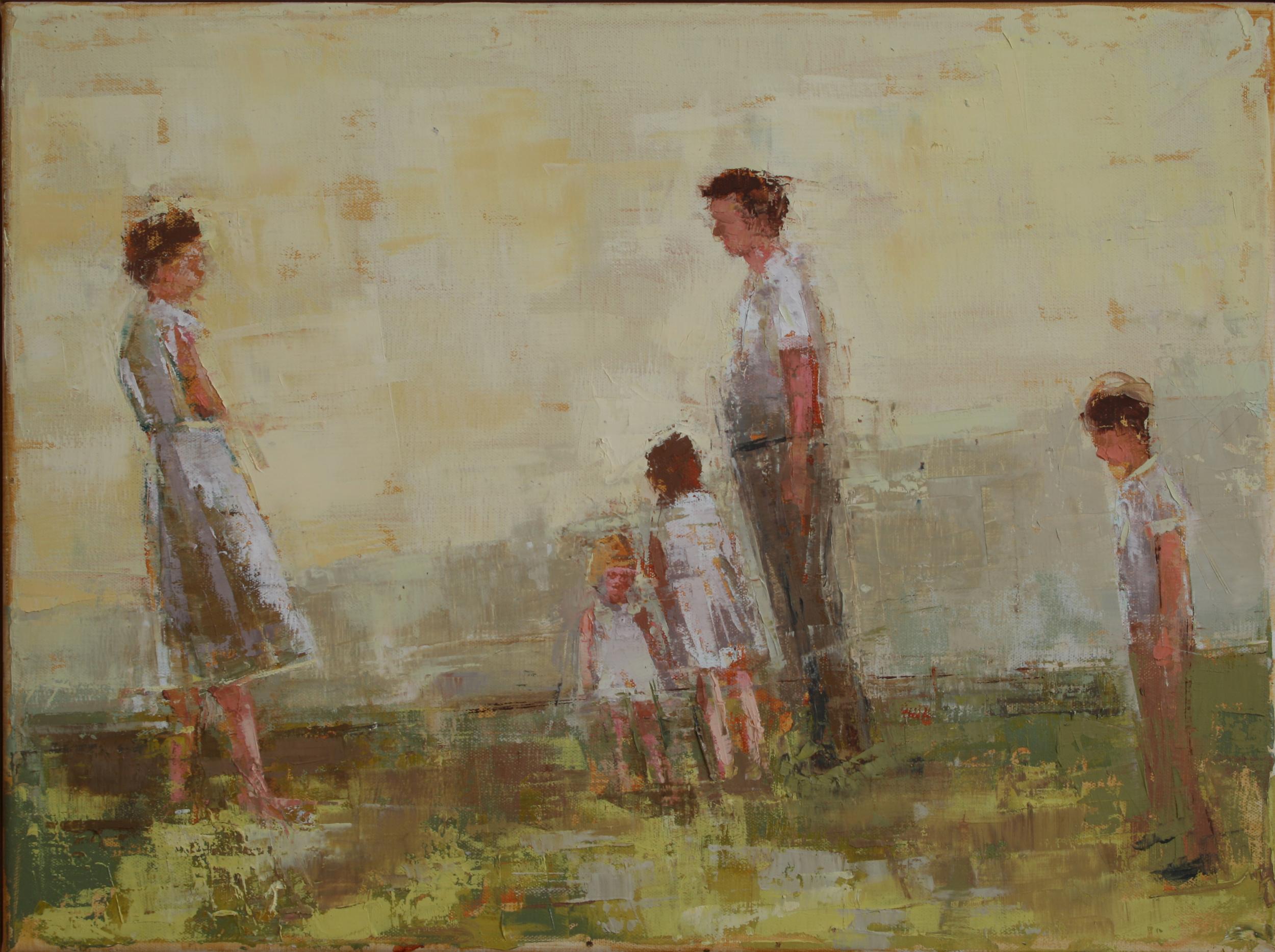 "The Edge, oil on linen, 12"" x 16"", 2010"