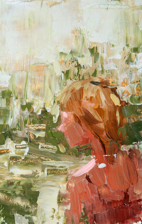 """TS 99, oil on panel, 3.25"""" x 2"""", 2011"""
