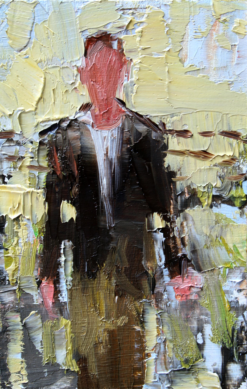 """TS 74, oil on panel, 3.25"""" x 2"""", 2011"""