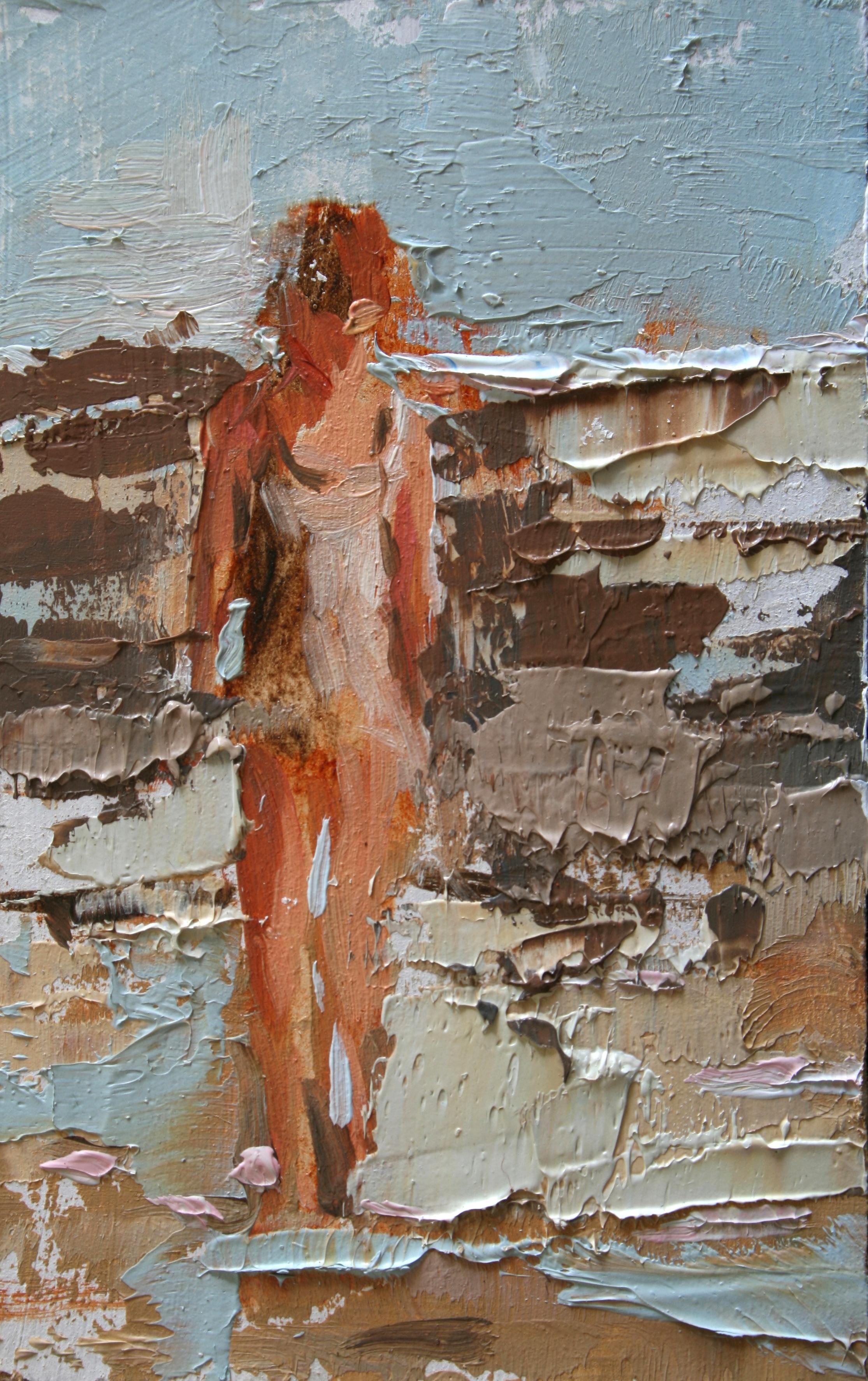 """TS 30, oil on panel, 3.25"""" x 2"""", 2011"""