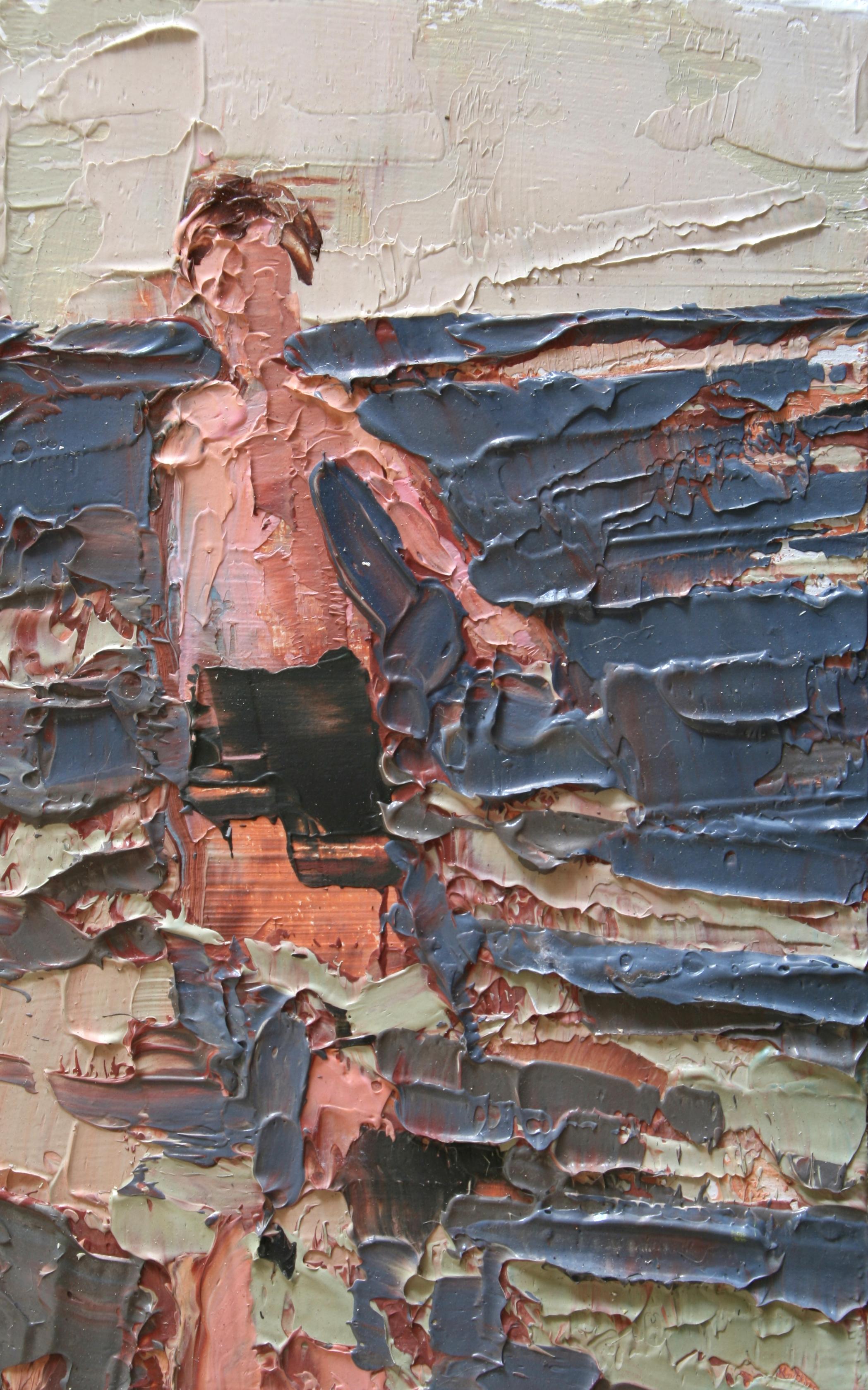 """TS 3, oil on panel, 3.25"""" x 2"""", 2010"""