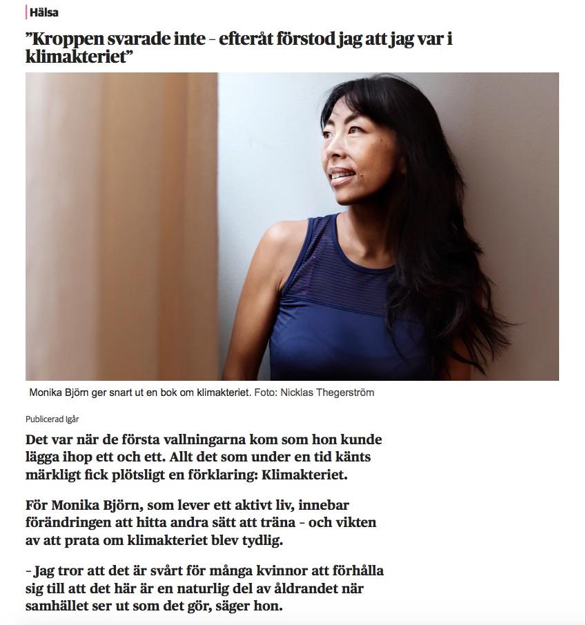 Dagens Nyheter 9 oktober 2018