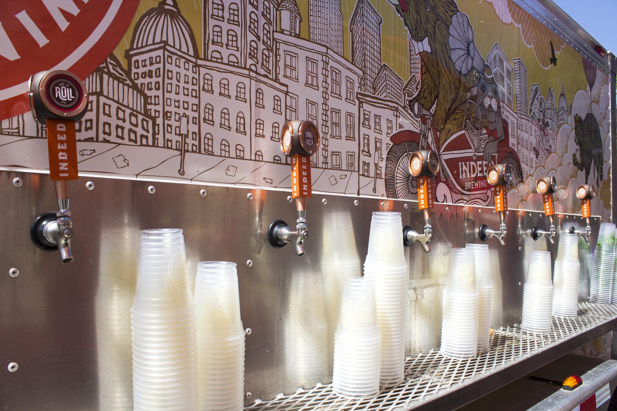 Indeed Beer truck on fleek.