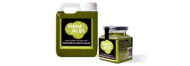 Mama Jacq's Green Marinade