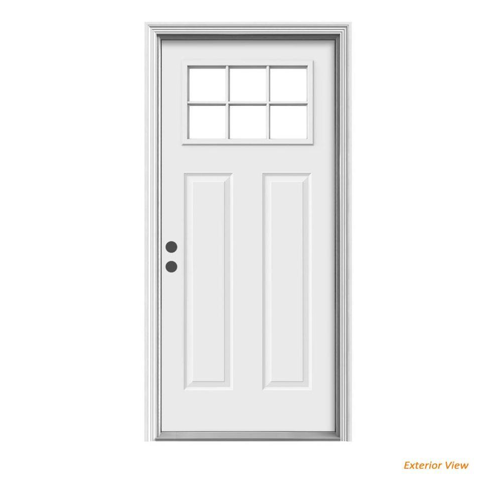 Secondary entry door