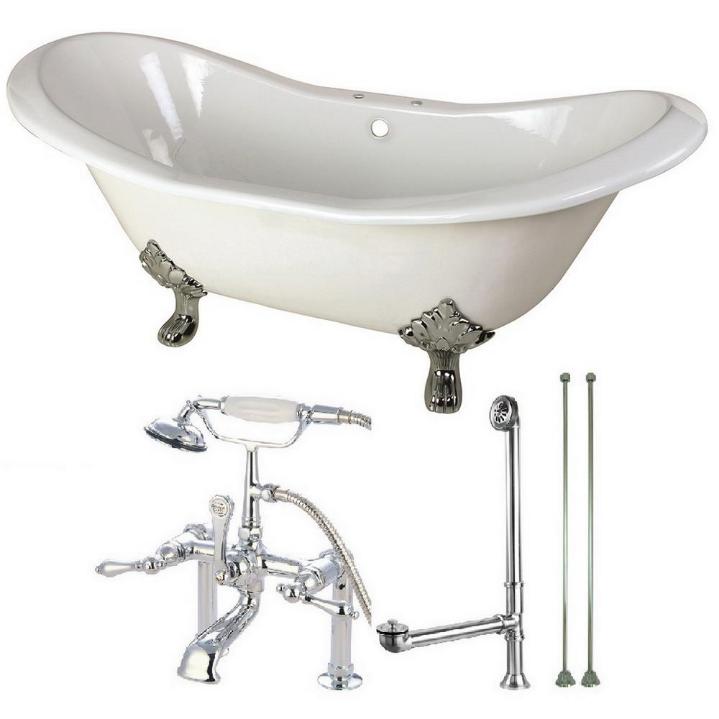 Optional free-standing tub