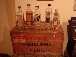embalming fluid, hydro