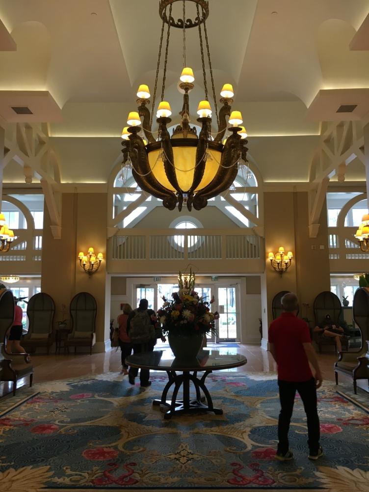 The gorgeous lobby!
