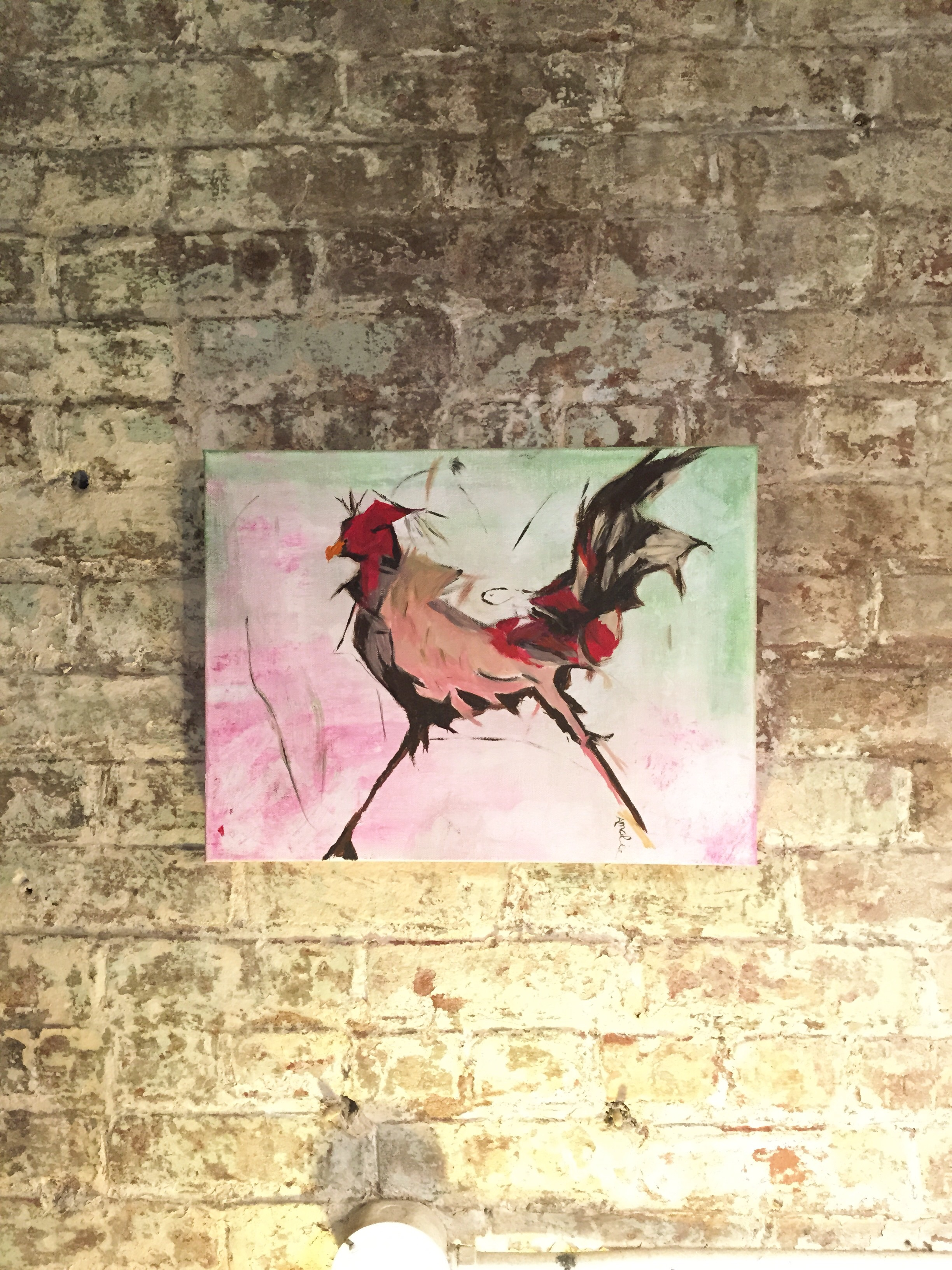 Rooster by Mom.