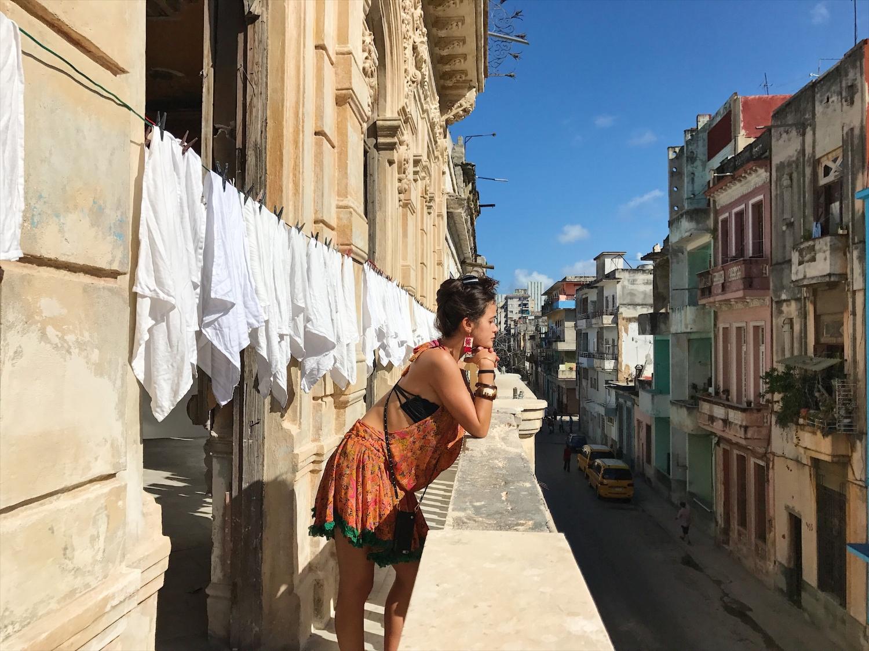 Balcony in Habana Vieja