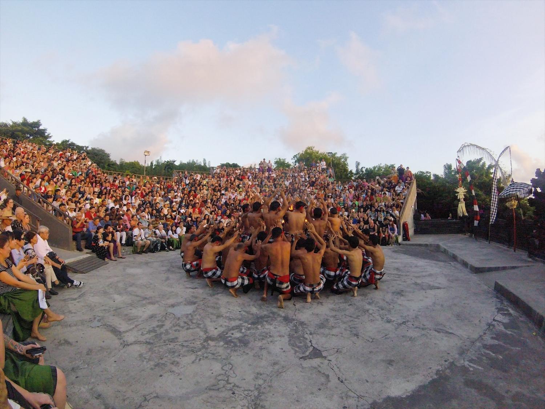 Uluwatu Temple Ceremony, Bali