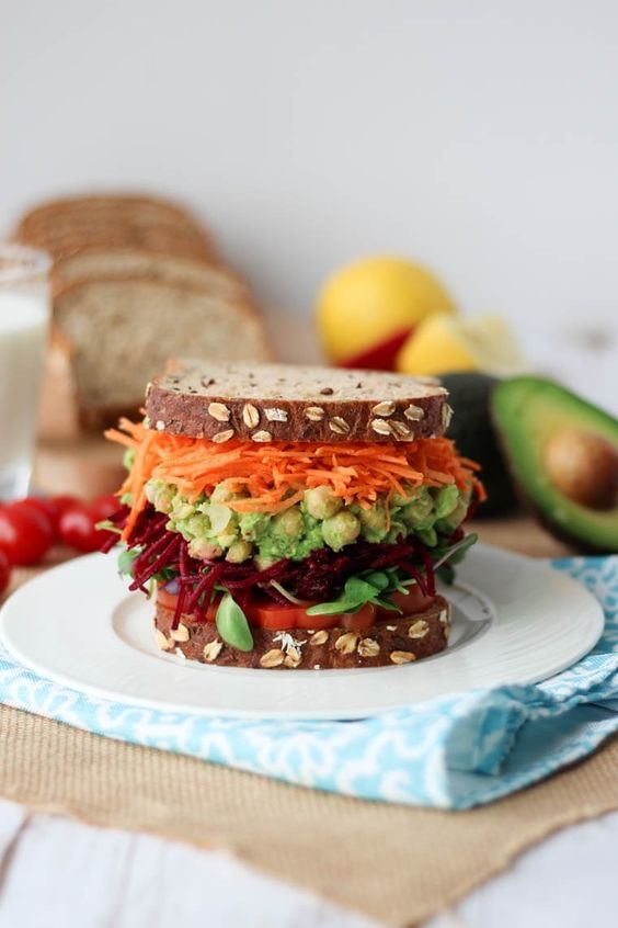 power-packed lunches - we'll be needing lots of power snacks and protein-packed lunches to make it through this week, and this sandwich is giving us major cravings right now.