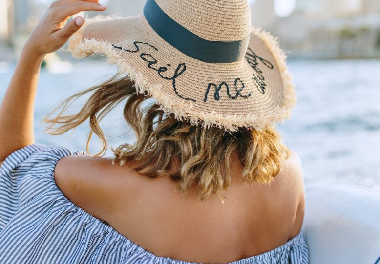 daydream & DIY - we're doing so much traveling in june, we might as well start dreaming and getting all of our essentials together - this hat is the perfect way to show personality and stay protected from the sun