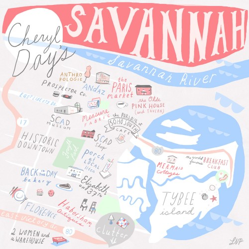 these travel guides - Emily's travels kick off with a weekend getaway to Savannah. these 24 hour guides from Design Sponge inspire quick trips and indulgent adventures.