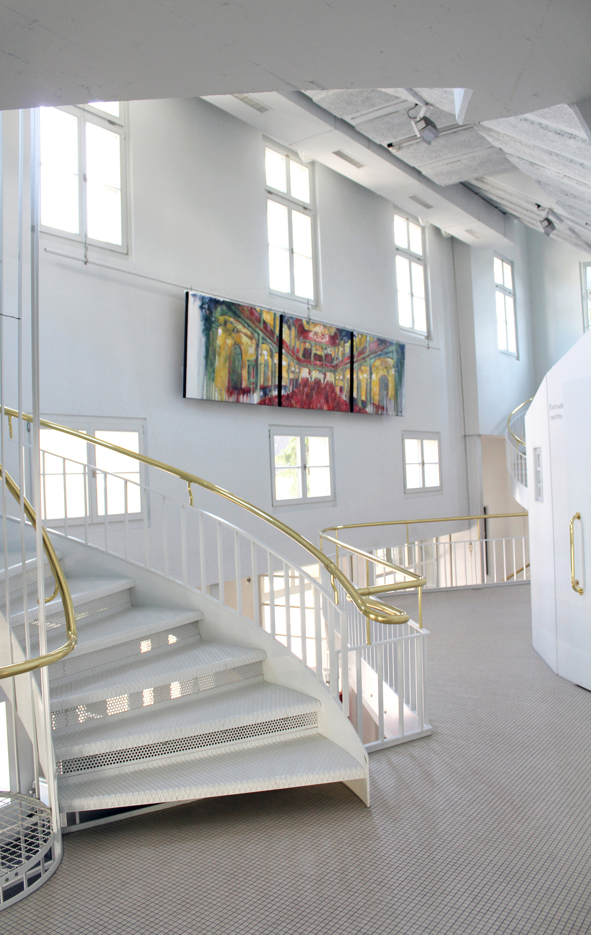Tonhalle Wil - Applause , Foyer Tonhalle Wil (CH)