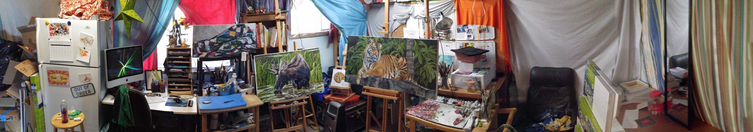 Kendra Aldrich Studio Pano