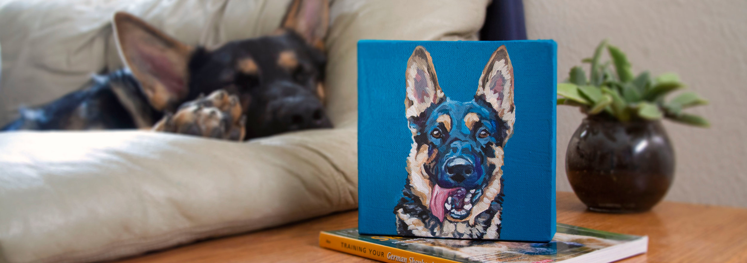HAND PAINTED PORTRAITS -