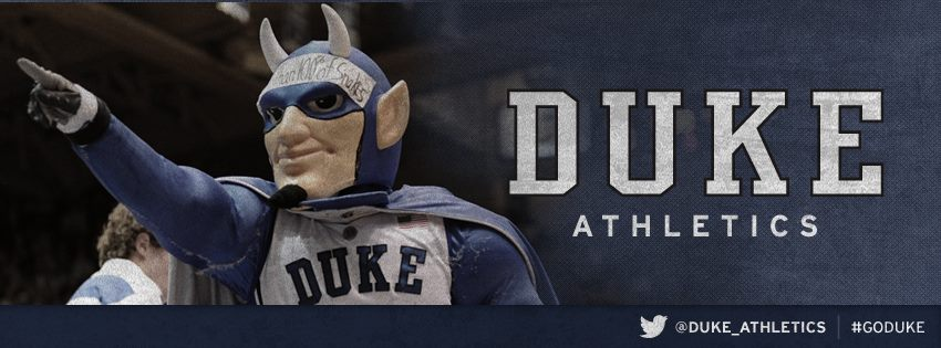 This image was the Facebook cover photo for over two years for Duke Athletics.